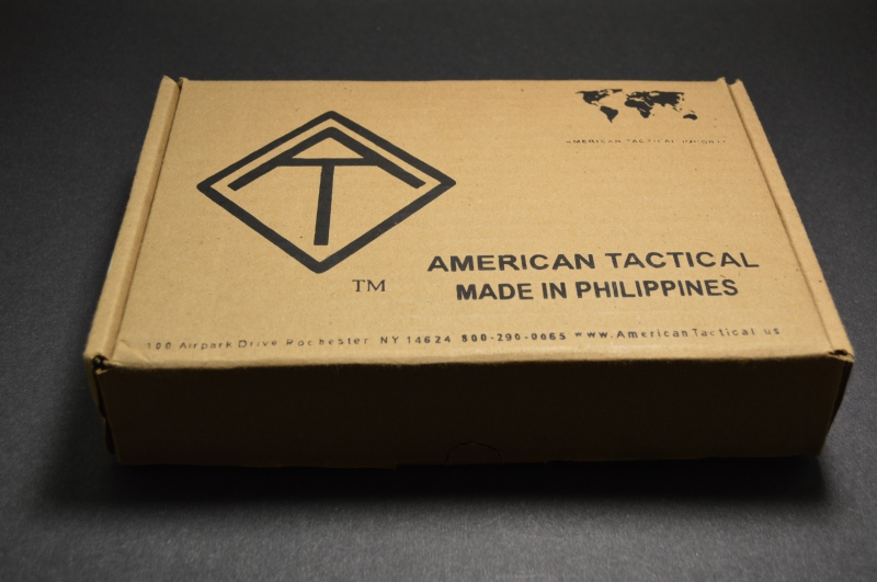 Basic cardboard box that the FX 1911 ships in.