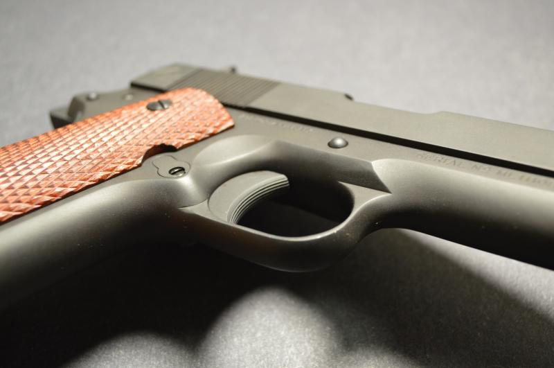 Trigger serrations