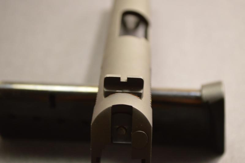 Rear sight notch