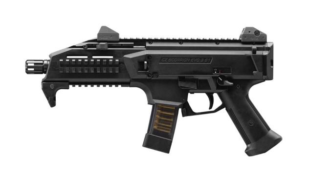 CZ Scorpion EVO 3 9x19mm