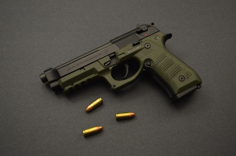 Recover Tactical BC2 on Beretta M9