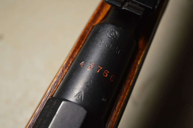 Barrel markings of 1934 Izhevsk M91/30